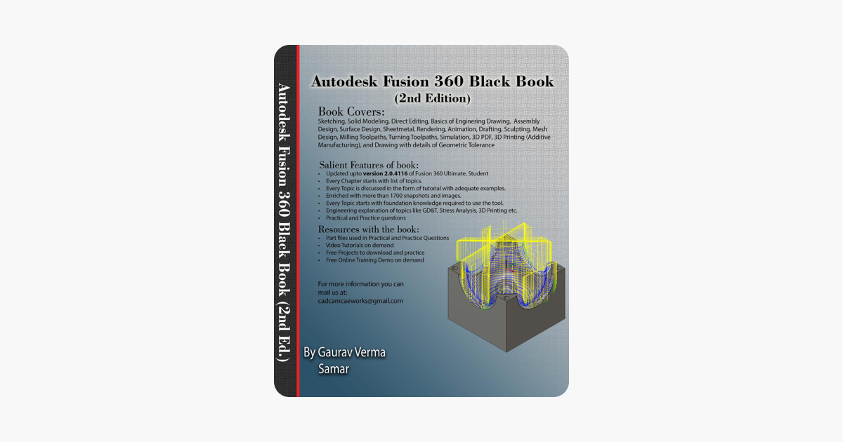 ‎Autodesk Fusion 360 Black Book (2nd Edition) - Part 2