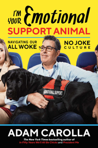I'm Your Emotional Support Animal Book Cover
