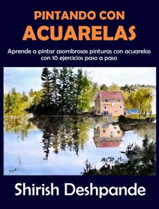 Pintando con acuarelas Book Cover