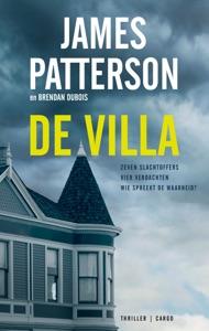 De villa Door James Patterson Boekomslag