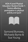 AQA A Level Physical Education Student Guide 1 Factors Affecting Participation In Physical Activity And Sport