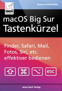 macOS Big Sur Tastenkürzel Buch-Cover