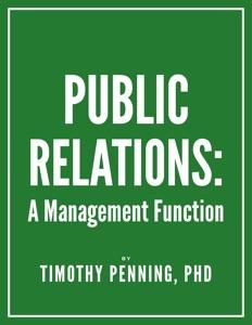 Public Relations: A Management Function