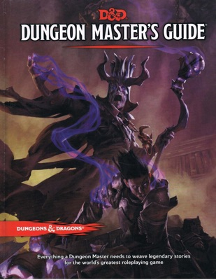 Dungeon Master's Guide (Core Rulebook, D&D Roleplaying Game)