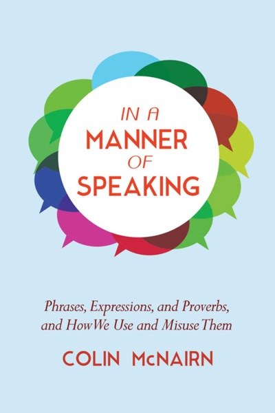 In a Manner of Speaking - Colin McNairn book cover