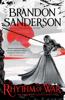 Brandon Sanderson - Rhythm of War artwork
