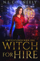 N. E. Conneely - Witch for Hire artwork