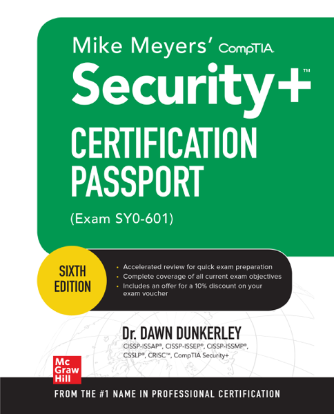 Mike Meyers CompTIA Security+ Certification Passport, Sixth Edition (Exam SY0-601)