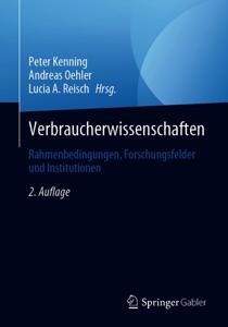 Verbraucherwissenschaften Buch-Cover