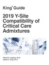 2019 Y-Site Compatibility Of Critical Care Admixtures
