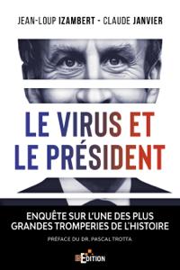 Le virus et le Président Couverture de livre