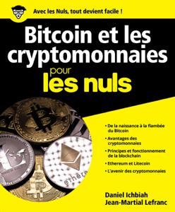 Bitcoin et Cryptomonnaies pour les Nuls La couverture du livre martien