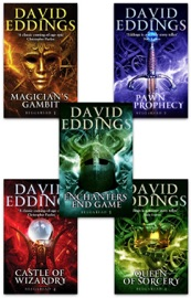 The Belgariad Set, Books 1-5 David Eddings