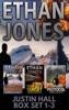 Justin Hall Spy Thriller Series - Books 1-3 Box Set