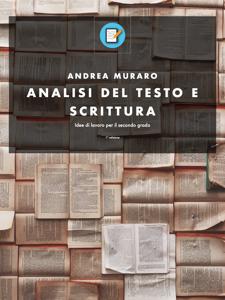 Analisi del testo e scrittura Copertina del libro