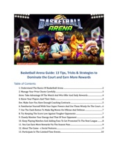 Basketball Arena Guide: 13 Tips, Tricks & Strategies To Dominate The Court And Earn More Rewards