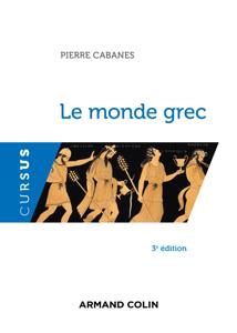 Le monde grec - 3e éd. La couverture du livre martien