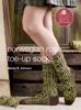 Norwegian Rose Socks