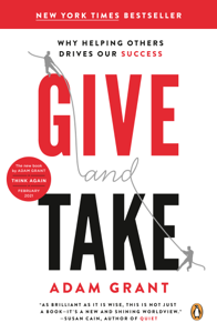 Give and Take Libro Cover