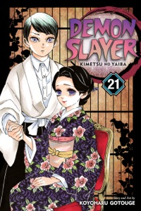 Demon Slayer: Kimetsu no Yaiba, Vol. 21 Book Cover