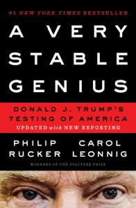 A Very Stable Genius Boekomslag