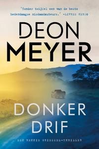 Donkerdrif Door Deon Meyer Boekomslag