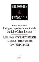 Judaïsme et christianisme dans la philosophie contemporaine
