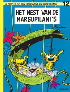 Het nest van de Marsupilami's Boekomslag