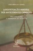 A perpetuação indevida dos antecedentes criminais Book Cover