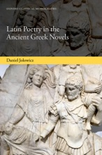 Latin Poetry In The Ancient Greek Novels