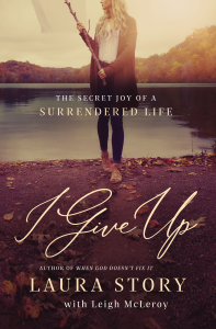 I Give Up Book Cover