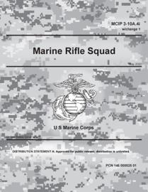 MCIP 3-10A.4i w/Change 1 Marine Rifle Squad May 2020