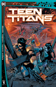 Future State: Teen Titans (2021-2021) #1 Book Cover