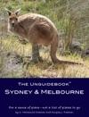 The Unguidebook Sydney  Melbourne