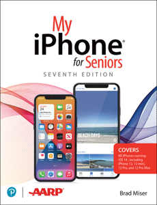 My iPhone for Seniors, 7/e Book Cover