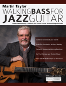 Martin Taylor Walking Bass For Jazz Guitar Book Cover