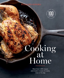 Cooking at Home by Chuck Williams Book Cover