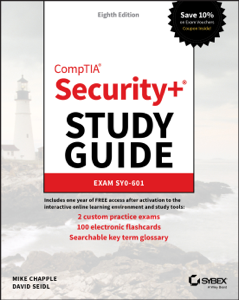 CompTIA Security+ Study Guide Book Cover
