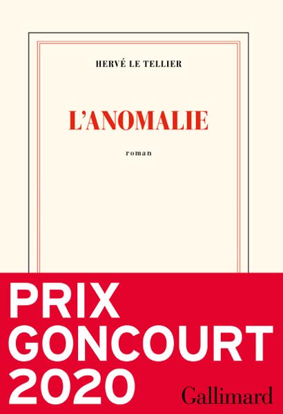 L'anomalie por Hervé Le Tellier