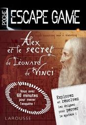 Escape game de poche Alex et le secret de Léonard de Vinci