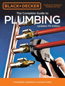 Black & Decker The Complete Guide to Plumbing Updated 7th Edition Book Cover