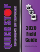 2020 Massachusetts Quick Stop Law Enforcement Field Guide