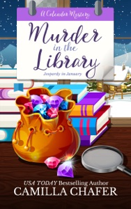 Murder in the Library Book Cover