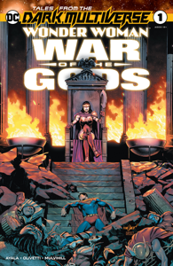 Tales from the Dark Multiverse: Wonder Woman: War of the Gods (2020-) #1 Copertina del libro