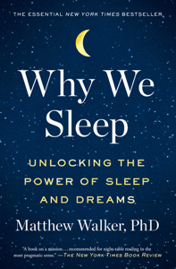 Why We Sleep Libro Cover