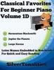 Classical Favorites For Beginner Piano Volume 1 D