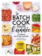 Batch cooking pour toute l'année