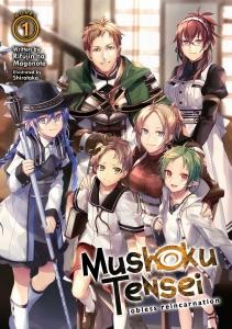 Mushoku Tensei: Jobless Reincarnation (Light Novel) Vol. 1 Book Cover