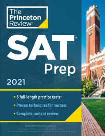 Princeton Review SAT Prep, 2021