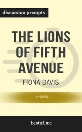The Lions Of Fifth Avenue A Novel By Fiona Davis